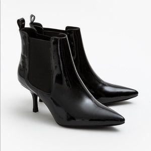 Anine Bing Black Metallic Stevie Boots - BRAND NEW
